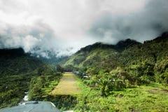 χωριό διαδρόμων βουνών στοκ εικόνες