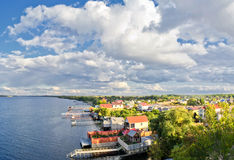 χωριό διακοπών Στοκ φωτογραφία με δικαίωμα ελεύθερης χρήσης