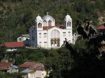 χωριό εκκλησιών Στοκ Φωτογραφία