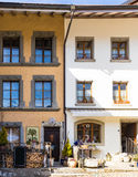 Χωριό Ελβετός γραβιέρας Στοκ φωτογραφία με δικαίωμα ελεύθερης χρήσης