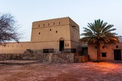 Χωριό κληρονομιάς Hatta στο εμιράτο του Ντουμπάι των Ε.Α.Ε. στοκ φωτογραφία