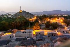 Χωριό κληρονομιάς Hatta στο εμιράτο του Ντουμπάι των Ε.Α.Ε. στοκ εικόνες με δικαίωμα ελεύθερης χρήσης