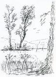 χωριό λιμνών ελεύθερη απεικόνιση δικαιώματος