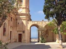 Χωριό Μάλτα Mellieha Στοκ φωτογραφία με δικαίωμα ελεύθερης χρήσης