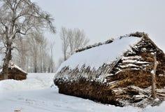 χωριό πάχνης 2 νησιών Στοκ εικόνα με δικαίωμα ελεύθερης χρήσης