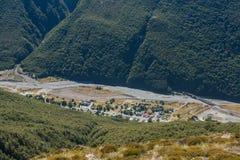 Χωριό περασμάτων του Άρθουρ, Νέα Ζηλανδία Στοκ φωτογραφία με δικαίωμα ελεύθερης χρήσης