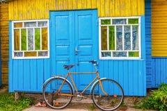 Χωριό ποδήλατο στοκ φωτογραφία με δικαίωμα ελεύθερης χρήσης
