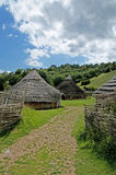 χωριό σιδήρου ηλικίας στοκ φωτογραφία