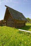 χωριό σπιτιών Στοκ εικόνα με δικαίωμα ελεύθερης χρήσης