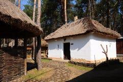 χωριό σπιτιών Στοκ φωτογραφία με δικαίωμα ελεύθερης χρήσης