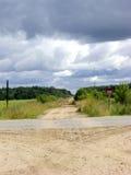 χωριό σταυροδρομιών Στοκ Φωτογραφίες