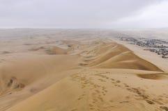 Χωριό στα σύνορα της ερήμου Huacachina, Περού Στοκ Εικόνες