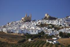χωριό στην Ανδαλουσία Ισπανία Στοκ Εικόνες