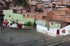 Χωριό στην Κολομβία στοκ φωτογραφία με δικαίωμα ελεύθερης χρήσης