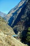 Χωριό στο Νεπάλ Στοκ Εικόνες