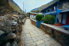 Χωριό στο Νεπάλ Στοκ εικόνα με δικαίωμα ελεύθερης χρήσης