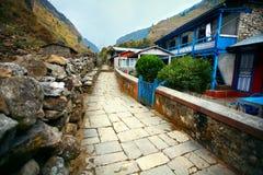 Χωριό στο Νεπάλ Στοκ φωτογραφίες με δικαίωμα ελεύθερης χρήσης
