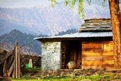 Χωριό στο Νεπάλ Στοκ Φωτογραφία