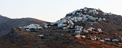Χωριό στο νησί Kythnos Στοκ φωτογραφίες με δικαίωμα ελεύθερης χρήσης