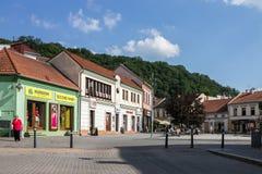 Χωριό Σλοβακία Trencin στοκ φωτογραφίες