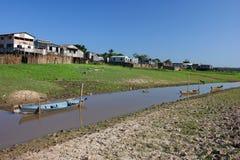 χωριό της Αμαζώνας στοκ εικόνες με δικαίωμα ελεύθερης χρήσης