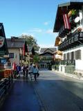 χωριό της Αυστρίας στοκ εικόνα