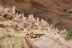 χωριό της Αφρικής dogon Μαλί στοκ φωτογραφίες