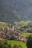 χωριό της Ελβετίας Στοκ εικόνα με δικαίωμα ελεύθερης χρήσης