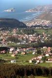 χωριό της Ισπανίας ακτών Στοκ φωτογραφία με δικαίωμα ελεύθερης χρήσης
