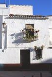 χωριό της Ισπανίας σπιτιών στοκ φωτογραφία με δικαίωμα ελεύθερης χρήσης
