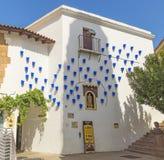 Χωριό της Ισπανίας - Poble Espanyol Στοκ Εικόνες