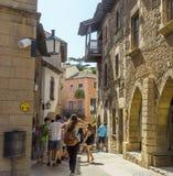 Χωριό της Ισπανίας - Poble Espanyol Στοκ Φωτογραφία