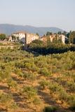 χωριό της Ιταλίας Τοσκάνη Στοκ φωτογραφίες με δικαίωμα ελεύθερης χρήσης