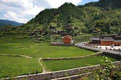 χωριό της Κίνας στοκ φωτογραφία