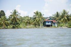 Χωριό της Καμπότζης Στοκ φωτογραφίες με δικαίωμα ελεύθερης χρήσης