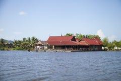 Χωριό της Καμπότζης Στοκ Εικόνες