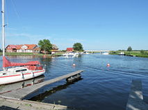 χωριό της Λιθουανίας minge Στοκ εικόνα με δικαίωμα ελεύθερης χρήσης