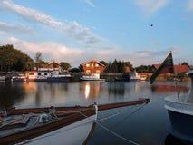χωριό της Λιθουανίας minge Στοκ φωτογραφία με δικαίωμα ελεύθερης χρήσης