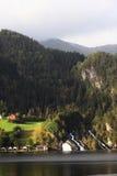 χωριό της Νορβηγίας Στοκ φωτογραφίες με δικαίωμα ελεύθερης χρήσης