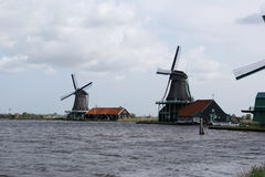 χωριό της Ολλανδίας λαο&g Στοκ εικόνες με δικαίωμα ελεύθερης χρήσης
