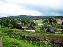 χωριό της Πολωνίας Στοκ εικόνα με δικαίωμα ελεύθερης χρήσης