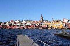 Χωριό της Σουηδίας †«Fjällbacka Στοκ φωτογραφίες με δικαίωμα ελεύθερης χρήσης