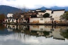 Χωριό της Hong, πόλη Huangshan, Anhui, Κίνα στοκ εικόνες με δικαίωμα ελεύθερης χρήσης