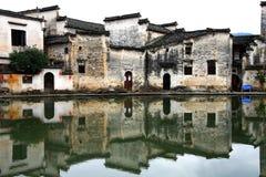 Χωριό της Hong, πόλη Huangshan, Anhui, Κίνα στοκ εικόνες