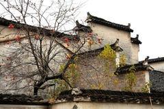 Χωριό της Hong, πόλη Huangshan, Anhui, Κίνα στοκ φωτογραφία