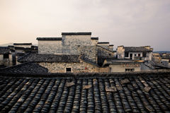 Χωριό της Hong στην επαρχία Anhui, Κίνα Στοκ φωτογραφίες με δικαίωμα ελεύθερης χρήσης