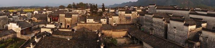 Χωριό της Hong στην επαρχία Anhui, Κίνα Στοκ εικόνες με δικαίωμα ελεύθερης χρήσης