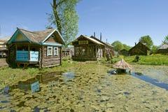 χωριό τοπίων Στοκ Φωτογραφία