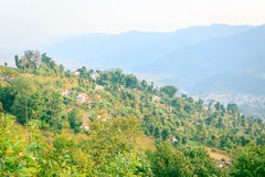 Χωριό του Νεπάλ Στοκ φωτογραφία με δικαίωμα ελεύθερης χρήσης