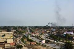 Χωριό του Σινγκ Wala Ganda - περιοχή Punjab, Πακιστάν Kasur στοκ εικόνες
